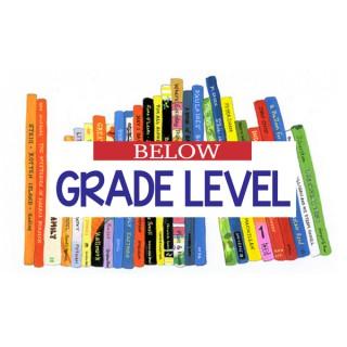 Below Grade Level