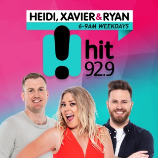 Heidi, Xavier & Ryan Catch Up - hit92.9 Perth