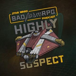 Highly Suspect | Bad Form RPG