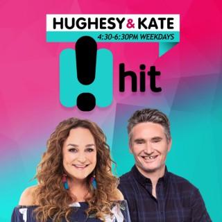Hughesy & Kate Catchup - Hit Network - Dave Hughes and Kate Langbroek