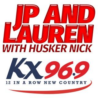 JP & Lauren with Husker Nick
