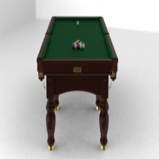 Knights of the Billiards Table