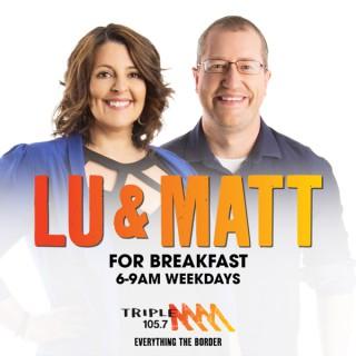 Lu & Matt for Breakfast - Triple M The Border 105.7