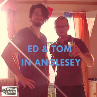 Ed & Tom in Anglesey