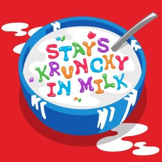 Stays Krunchy In Milk