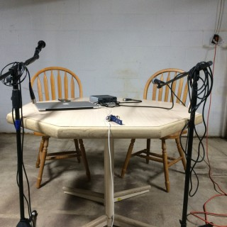 Table in a Basement