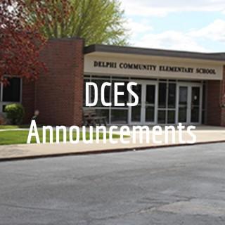 DCES Announcements