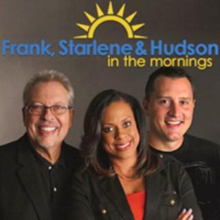 Frank, Starlene & Hudson in the Morning