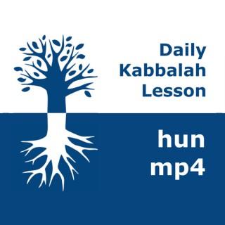 Kabbalah: Daily Lessons | mp4 #kab_hun