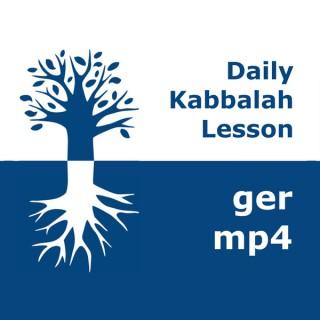 Kabbalah: Täglicher Unterricht   mp4 #kab_ger