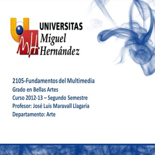 Fundamentos del Multimedia (umh 2105)