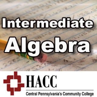 MATH 051: Intermediate Algebra - jr