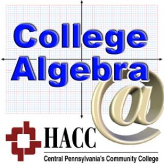 MATH 103-Blended: College Algebra