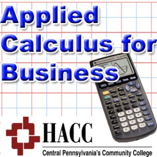 MATH 110: Applied Calculus for Business - pw