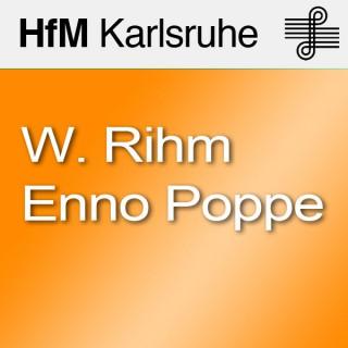 Gesprächsrunde: Wolfgang Rihm, Enno Poppe und Matthias Wiegandt - SD