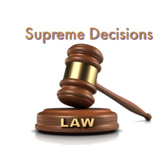 Supreme Decisions legal minute podcast