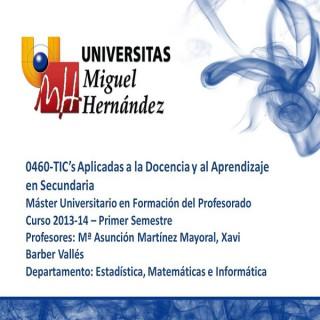 TIC's Aplicadas a la Docencia y al Aprendizaje en Secundaria (umh0460) Curso 2013 - 2014