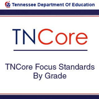 TNCore Focus Standards By Grade
