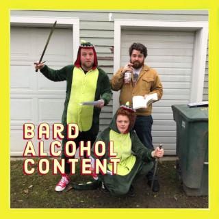 Bard Alcohol Content