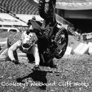 Cooksey's Weekend Cliff Notes