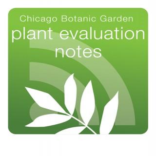 Plant Evaluation Notes