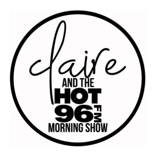 Claire and the HOT 96 Morning Show