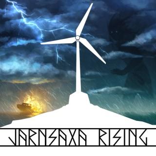 Jarnsaxa Rising