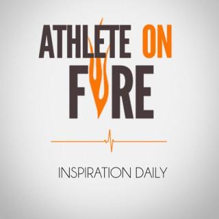 Athlete On Fire