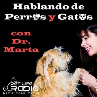 Hablando de Perros y Gatos con Dr. Marta on Pet Life Radio (PetLifeRadio.com)