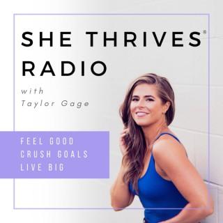 She Thrives Radio   Mindset, Fitness, Healthy Habits, Empowerment + Happy Living