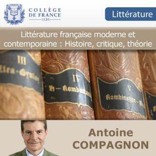 Littérature française moderne et contemporaine : Histoire, critique, théorie
