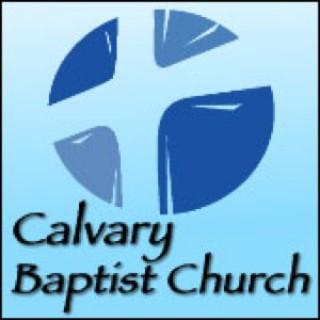 Calvary Baptist Church - Canyon Texas - David Crump, Pastor