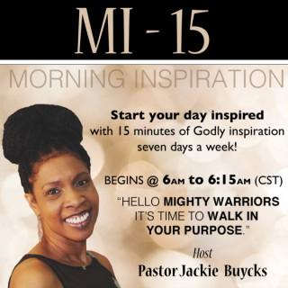 MI-15 Inspiration w/Pastor Jackie Buycks