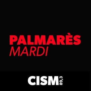 CISM 89.3 : Palmarès du mardi