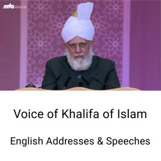 English Speeches by Khalifa of Islam
