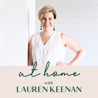 At Home with Lauren Keenan