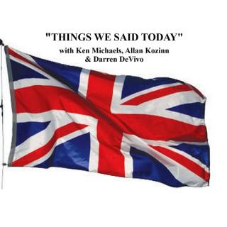 Things We Said Today Beatles Radio
