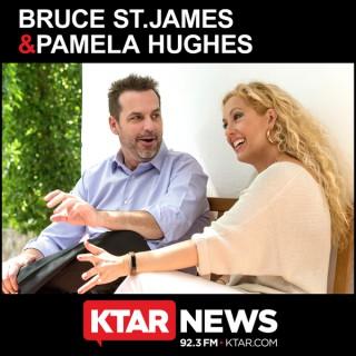 Bruce St. James & Pamela Hughes Show Audio