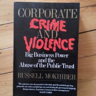 Corporate Crime Reporter Morning Minute