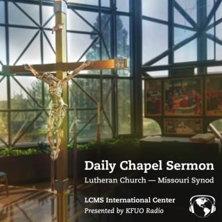 Daily Chapel Sermon from KFUO Radio