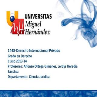 Derecho Internacional Privado (umh1448)