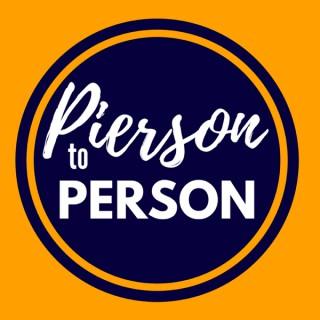 PIERSON TO PERSON