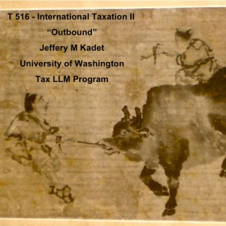 T516 International Taxation II