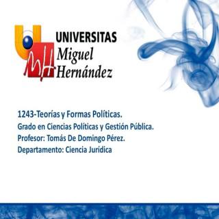 Teorías y Formas Políticas (umh1243) Curso 2013 2014