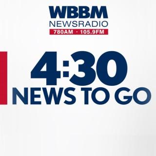 WBBM Newsradio's 4:30PM News To Go