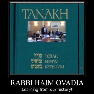 Bible Classes - Tanakh