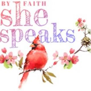 By Faith She Speaks