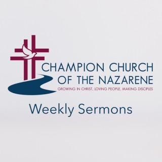 Champion Church of the Nazarene Podcast