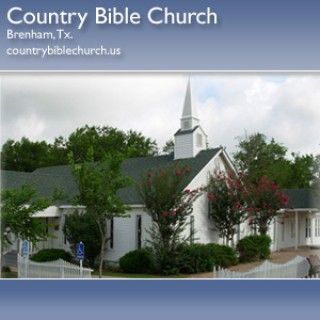 Country Bible Church - Audio Specials