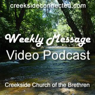 Creekside Church of the Brethren Video Sermon Podcast